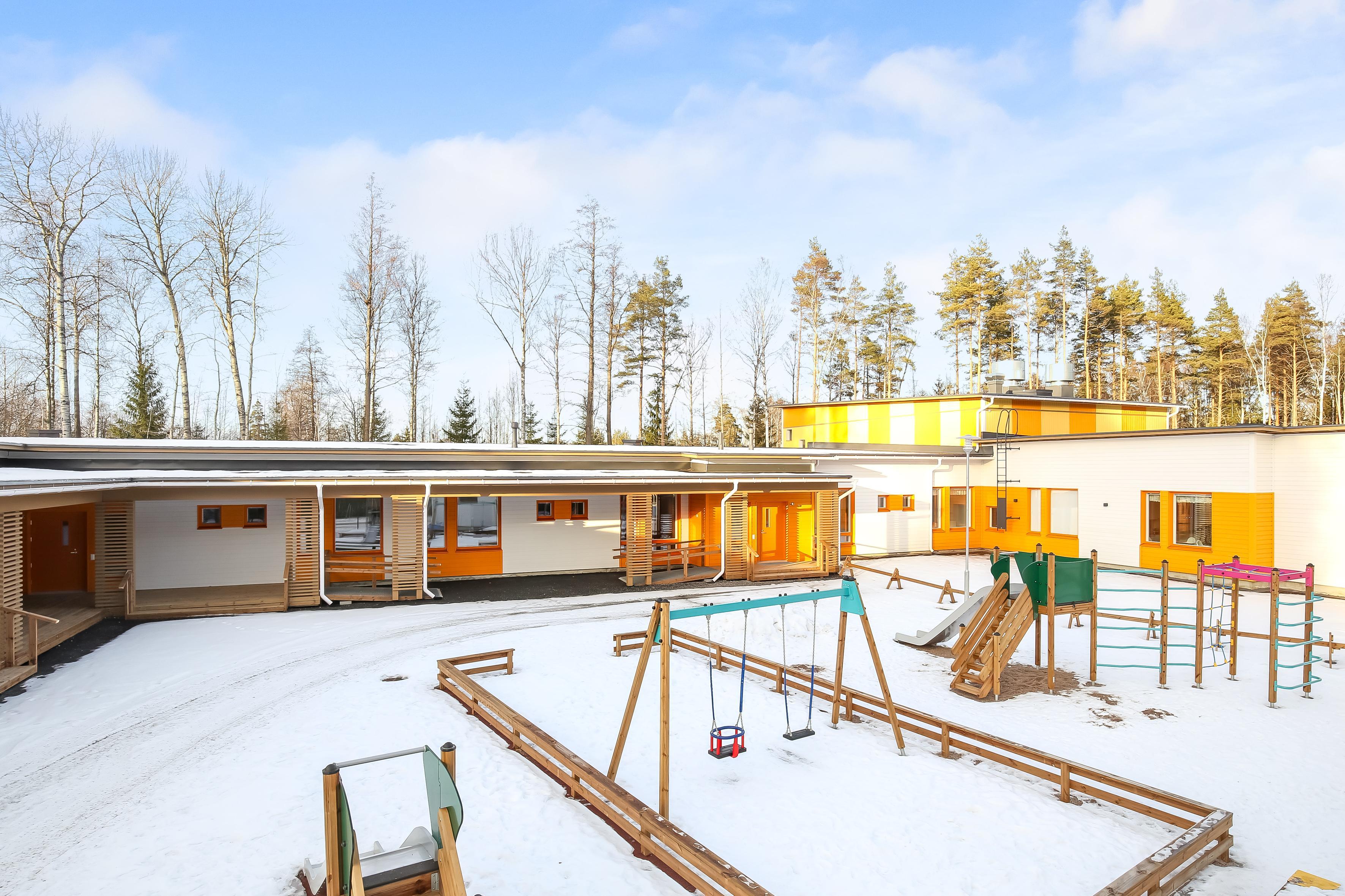 Touhula Laajalahti sijaitsee Espoossa | Touhula-päiväkodit